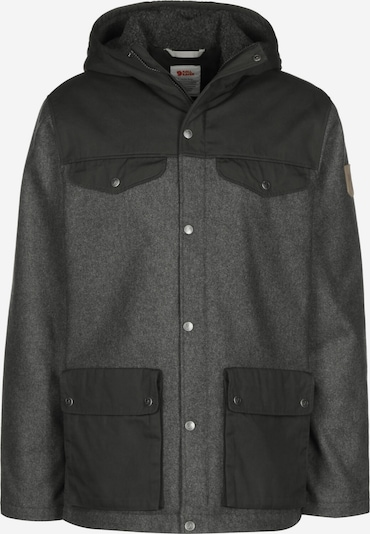 Fjällräven Winterjacke ' Greenland Re-Wool ' in schwarz, Produktansicht