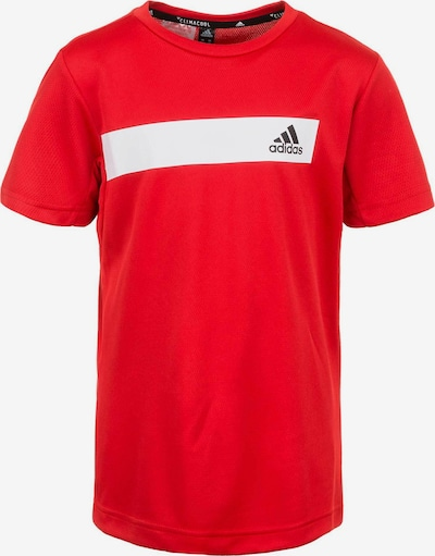 ADIDAS PERFORMANCE Trainingsshirt 'Cool' in rot / schwarz / weiß, Produktansicht