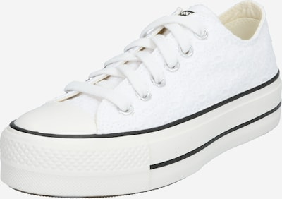 CONVERSE Baskets basses 'Chuck Taylor All Star Lift - OX' en blanc, Vue avec produit