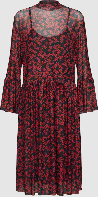 MOSS COPENHAGEN Kleid 'Kit' in rot   schwarz    Neuer Aktionsrabatt b147da