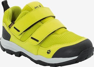 JACK WOLFSKIN Sneaker 'Attack 3' in gelb / hellgrau / schwarz, Produktansicht