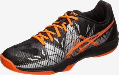 ASICS Handballschuhe 'Gel-Fastball 3' in orange / schwarz / weiß, Produktansicht