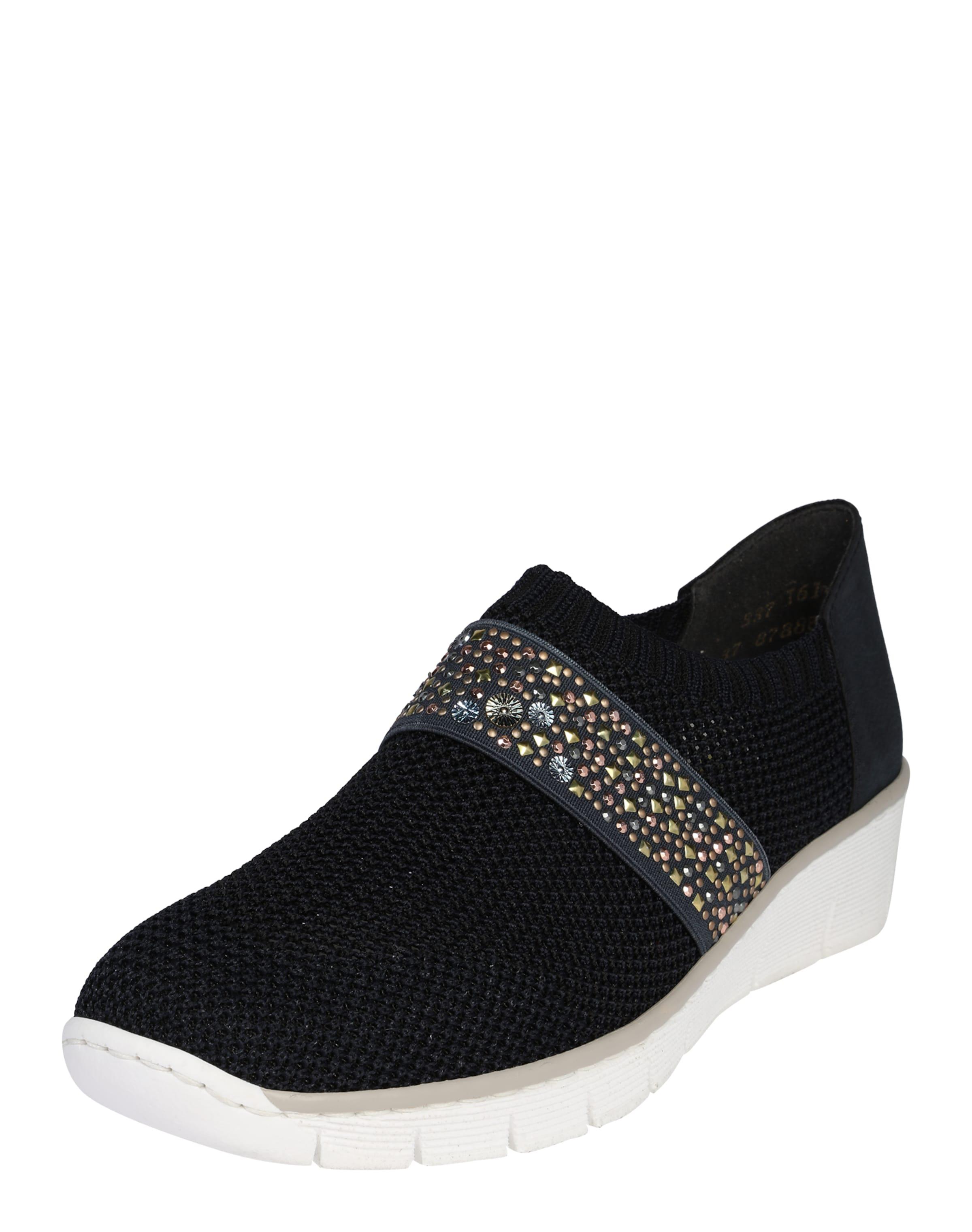 Haltbare Mode billige Schuhe RIEKER   Slipper 'Etno' Schuhe Gut getragene Schuhe