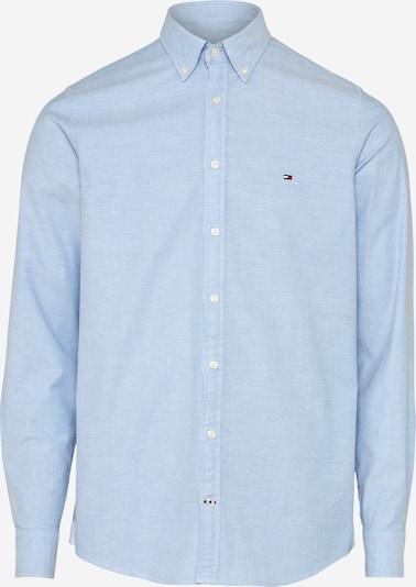 Dalykinio stiliaus marškiniai iš TOMMY HILFIGER , spalva - mėlyna dūmų spalva, Prekių apžvalga