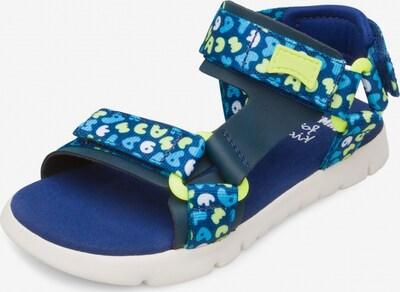 CAMPER Sandalen 'Oruga' in blau / mischfarben, Produktansicht