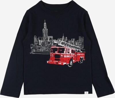 GAP T-Shirt en bleu foncé / rouge / blanc, Vue avec produit