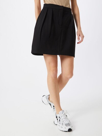 OBJECT Spódnica 'OBJCHIA' w kolorze czarnym: Widok z przodu