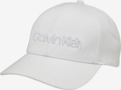 Calvin Klein Cap in weiß, Produktansicht
