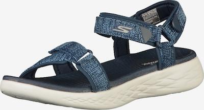SKECHERS Sandalen in blaumeliert, Produktansicht