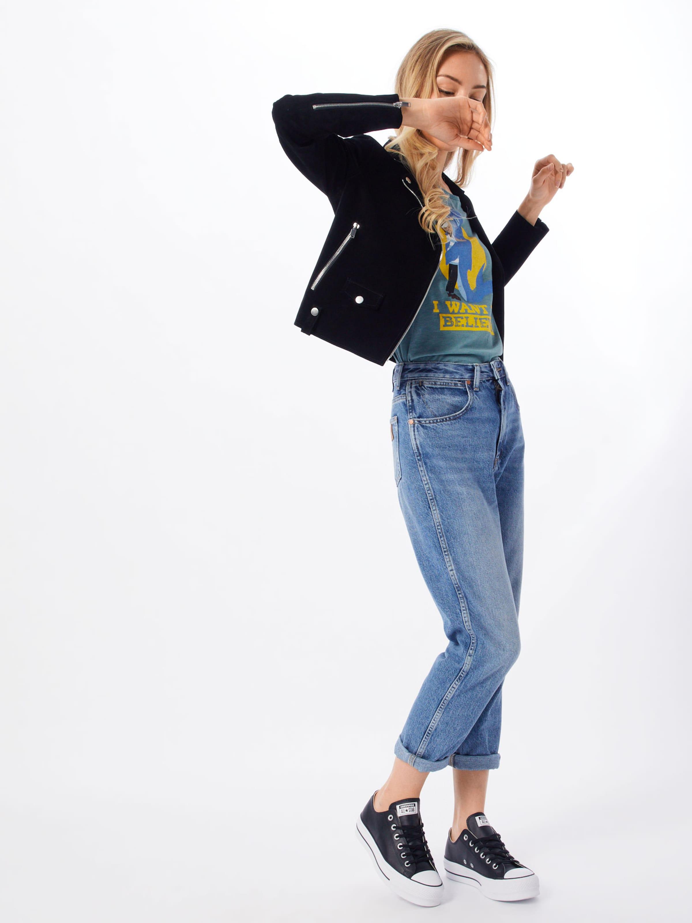 Love Derbe In Shirt 'whale Girls ' GelbPetrol 3L4jc5RqSA