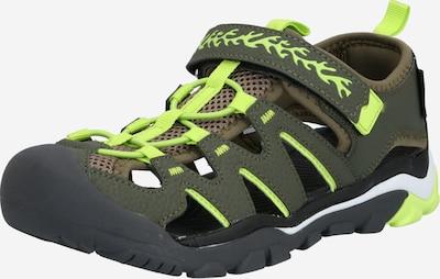 Dockers by Gerli Schuhe in grün / khaki, Produktansicht