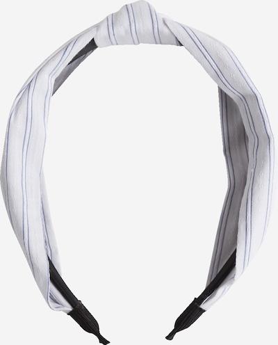 EDITED Ornement pour cheveux 'Tenea' en bleu / blanc, Vue avec produit