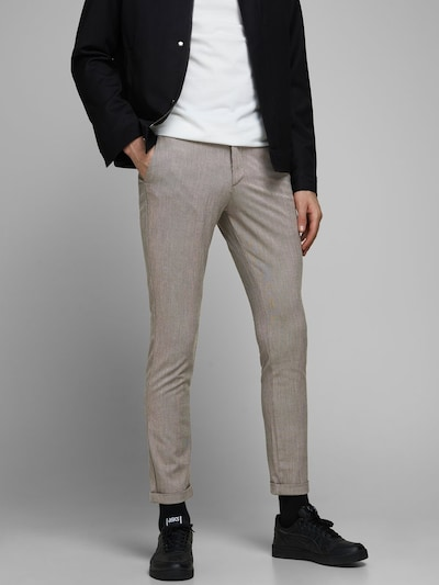 JACK & JONES Chino 'Marco Connor' in de kleur Grijs, Modelweergave