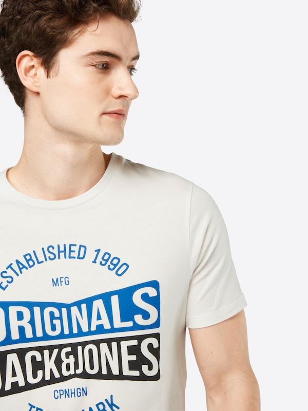 JACK & JONES T-Shirt 'JORMUSAI SS CREW NECK'
