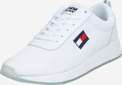 Tommy Jeans Zemie apavi 'FLEXI RUNNER' pieejami balts, Preces skats