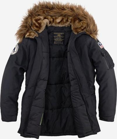 ALPHA INDUSTRIES Jacke 'Polar' in schwarz | ABOUT YOU