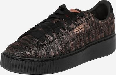 PUMA Sneaker 'Basket Platform' in kupfer / schwarz, Produktansicht