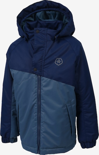 COLOR KIDS Winterjacke 'Dahlia' in blau / dunkelblau, Produktansicht