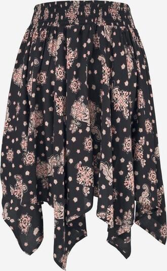 LASCANA Strandrock in rosa / schwarz, Produktansicht