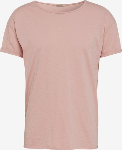 Nudie Jeans Co T-Shirt 'Roger Slub' in rosa, Produktansicht