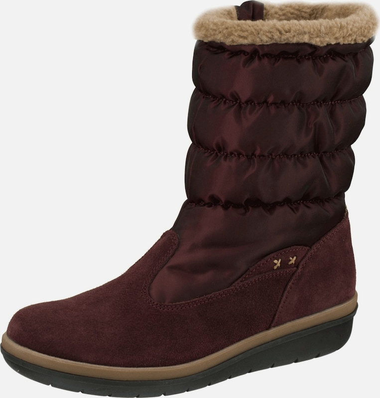 Natural Feet Winterstiefel 'Aneira' in bordeaux, Produktansicht
