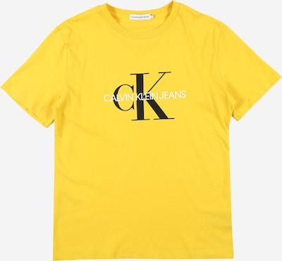 Calvin Klein Jeans Majica u žuta / crna / bijela, Pregled proizvoda