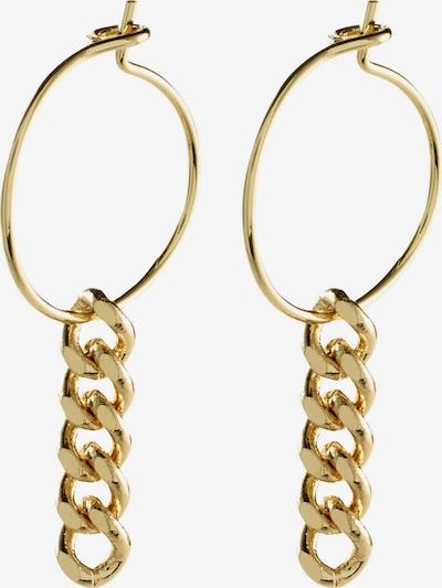 Pilgrim Ohrringe 'Water' in gold, Produktansicht