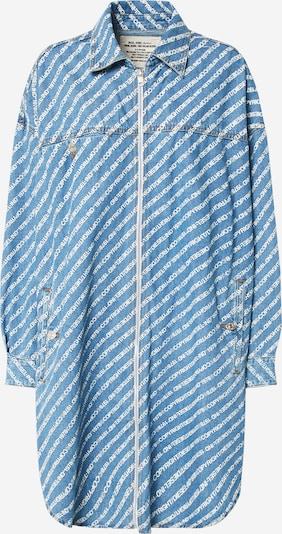 Rochie tip bluză 'DE-SLYX DRESS' DIESEL pe albastru, Vizualizare produs