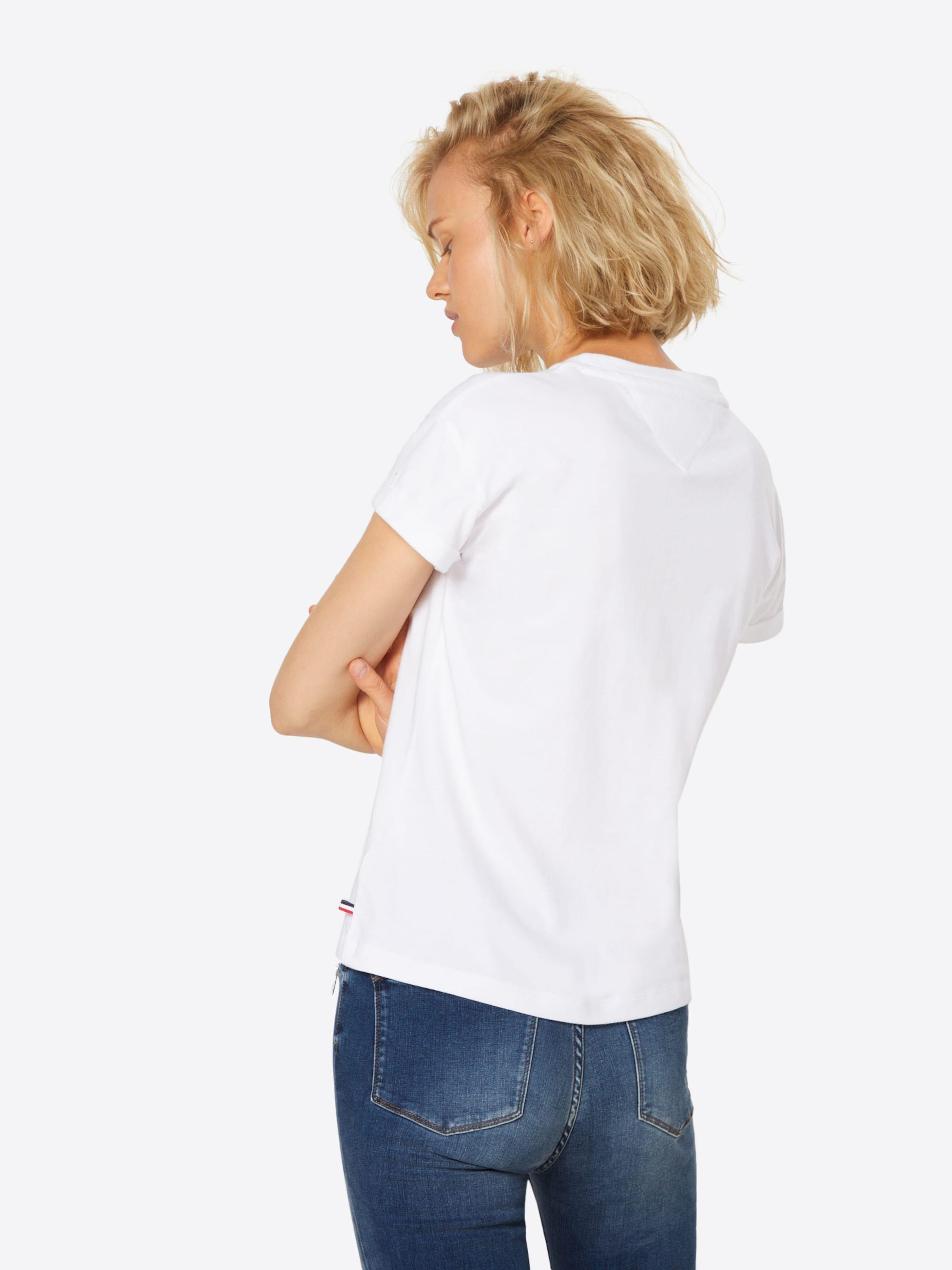 En Rouge shirt Tommy T Jeans ClairBlanc pVMqSUzGL