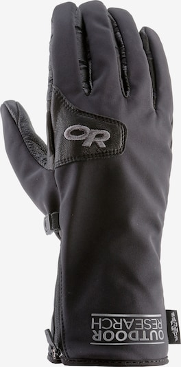 Outdoor Research Fingerhandschuhe 'Stormtracker Sensor' in schwarz, Produktansicht