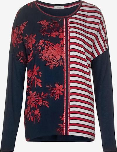 CECIL Shirt in nachtblau / mischfarben, Produktansicht