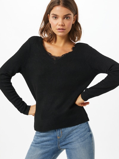 ONLY Pullover 'JULIE' in schwarz, Modelansicht
