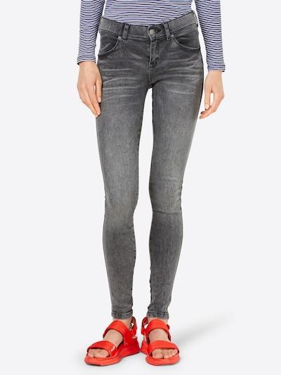 Dr. Denim Jeans 'Dixy' i grå: Sedd framifrån
