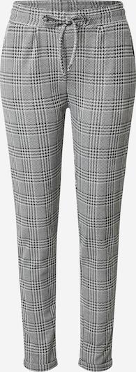 Zwillingsherz Hose 'Odelia' in schwarz / weiß: Frontalansicht