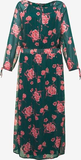 Ulla Popken Kleid in grün / pink, Produktansicht