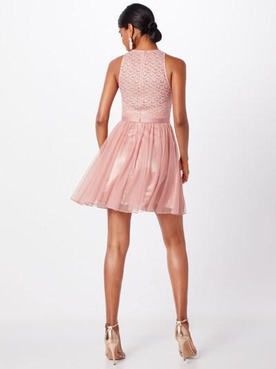 Kokteilinė suknelė iš Laona , spalva - rožių spalva: Vaizdas iš galinės pusės