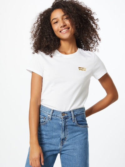 LEVI'S Shirt 'The Perfect' in weiß: Frontalansicht