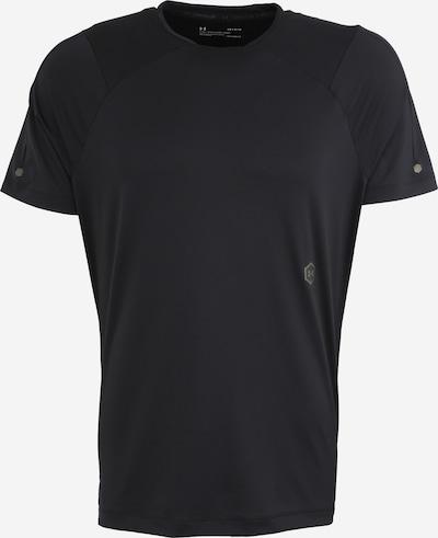 UNDER ARMOUR Shirt 'Rush' in schwarz, Produktansicht