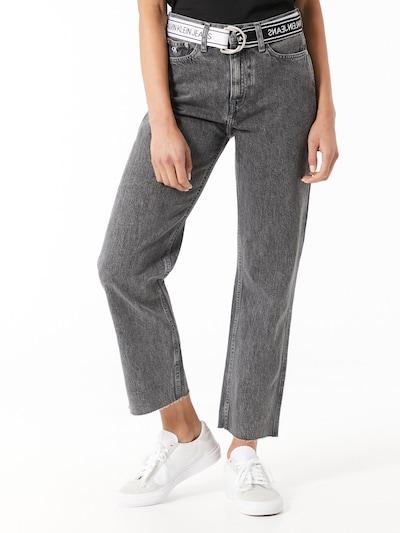Calvin Klein Jeans Jeans in schwarzmeliert, Modelansicht