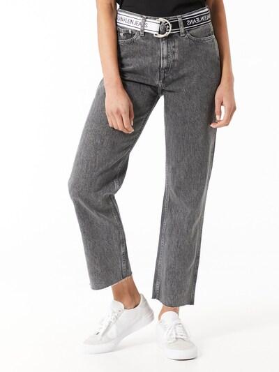 Calvin Klein Jeans Džínsy - čierna melírovaná, Model/-ka