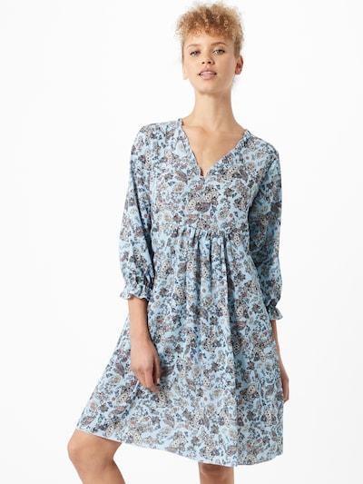 Sublevel Kleid in hellblau / mischfarben, Modelansicht