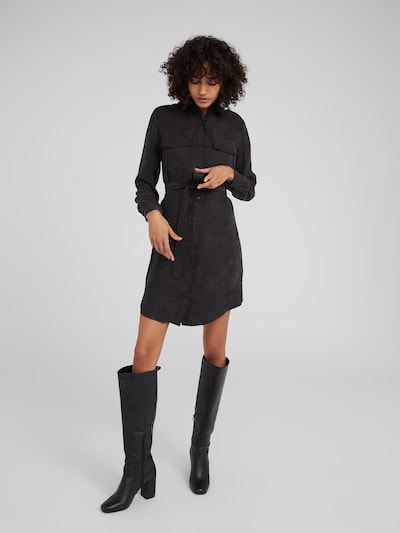 Palaidinės tipo suknelė 'Farha' iš EDITED , spalva - juoda: Vaizdas iš priekio