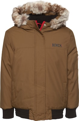 BENCH Winterjas 'HOODED FUR BOMBER'