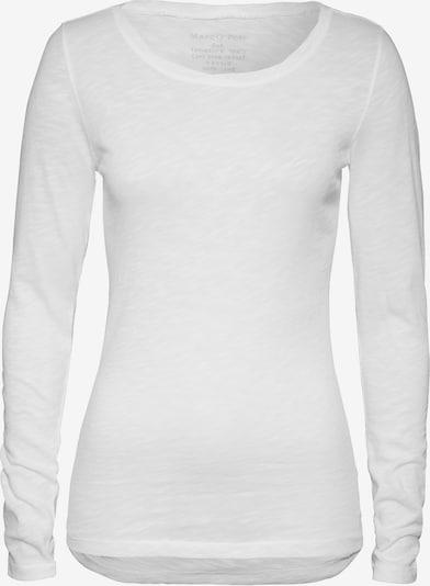 Marc O'Polo Longsleeve Shirt in weiß, Produktansicht