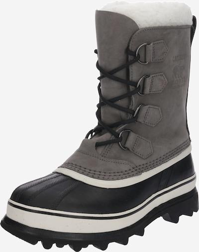 SOREL Škornji za v sneg 'Caribou' | antracit barva, Prikaz izdelka