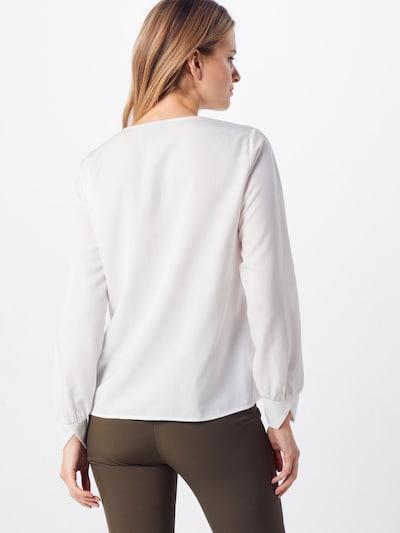 OBJECT Bluza 'OBJEILEEN L/S V-NECK TOP NOOS'   bela barva: Pogled od zadnje strani