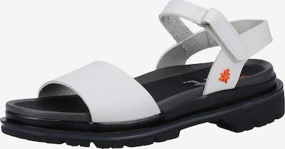 ART Sandalen met riem in de kleur Zwart / Wit, Productweergave