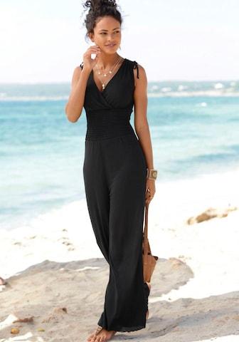 LASCANA Jumpsuit in Black