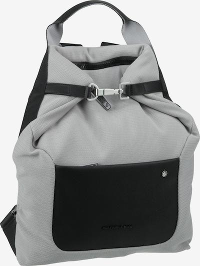 MANDARINA DUCK Rucksack ' Camden ' in grau / silbergrau / silber, Produktansicht