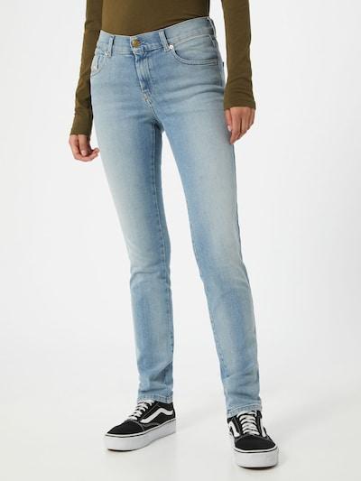DIESEL Jeans 'SANDY' in blue denim: Frontalansicht